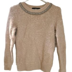 Forever 21 knit fuzzy sweater, Sm